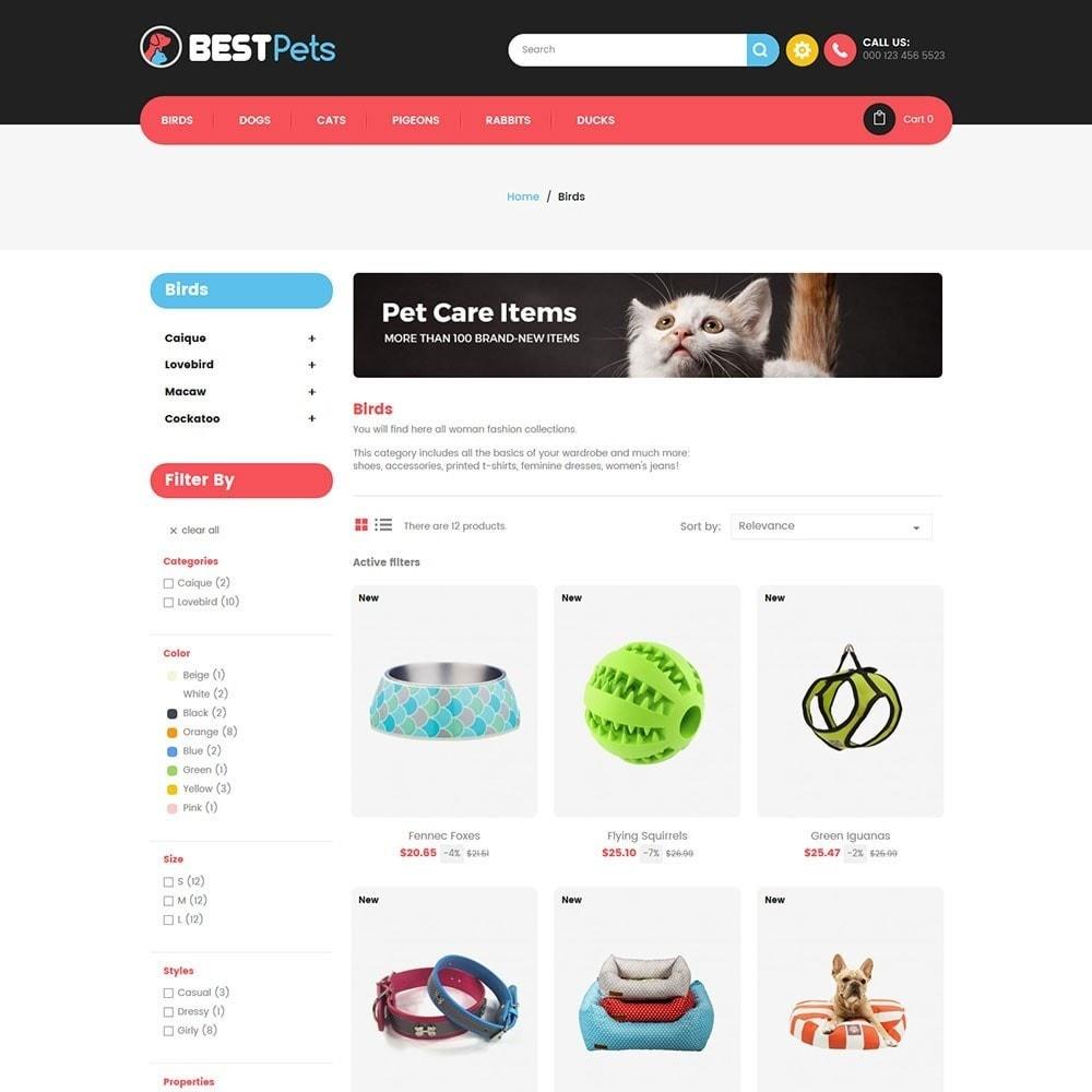 theme - Tier - Animal Pets Store - 3