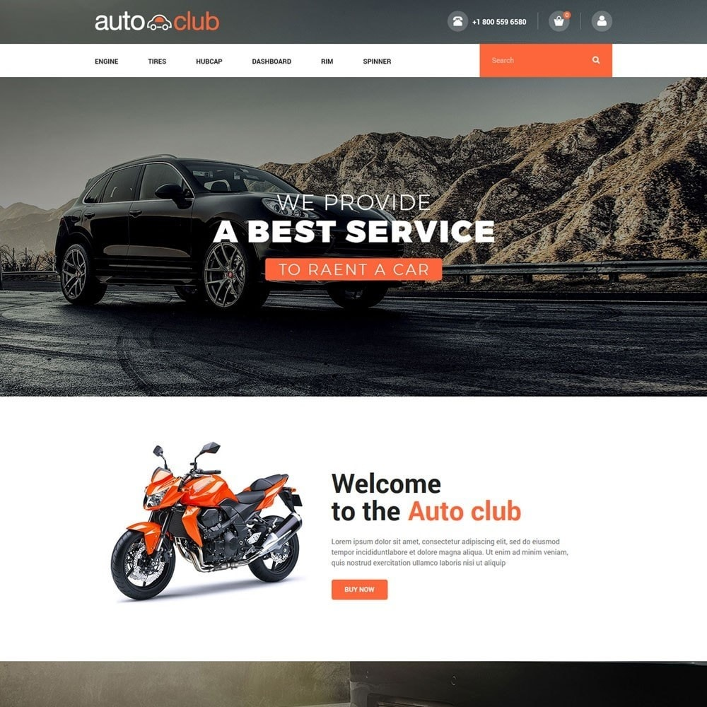 theme - Coches y Motos - Auto Part - Tool Store - 2