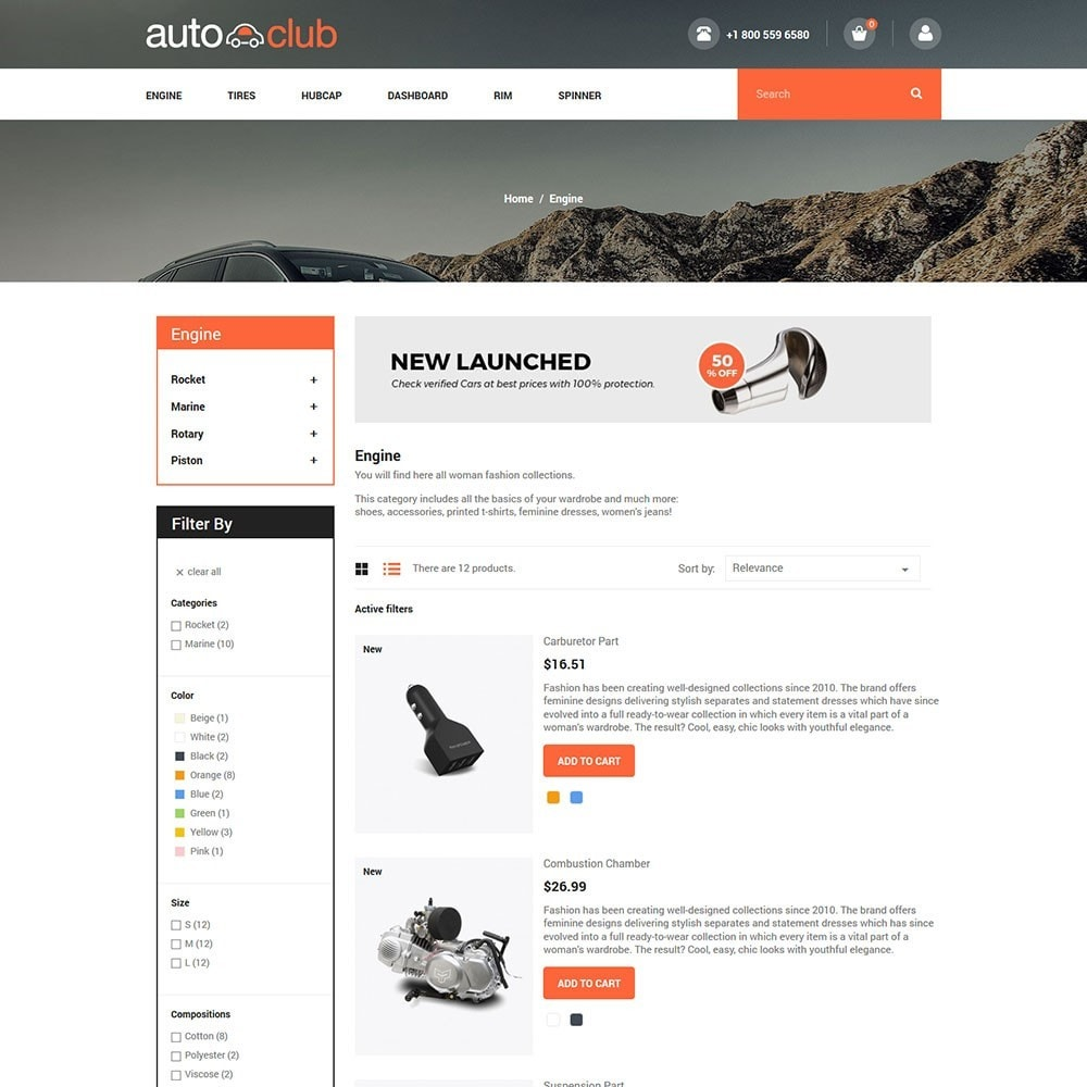 theme - Coches y Motos - Auto Part - Tool Store - 4