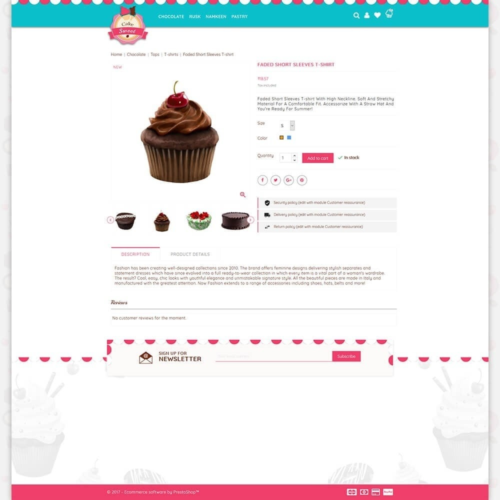 theme - Food & Restaurant - Cake Store - 5