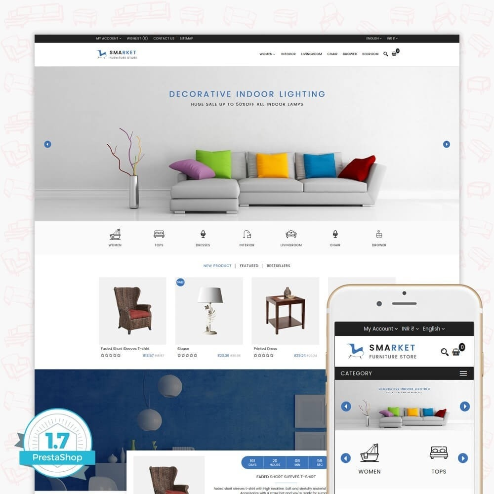 theme - Дом и сад - SMarket Furniture Store - 1