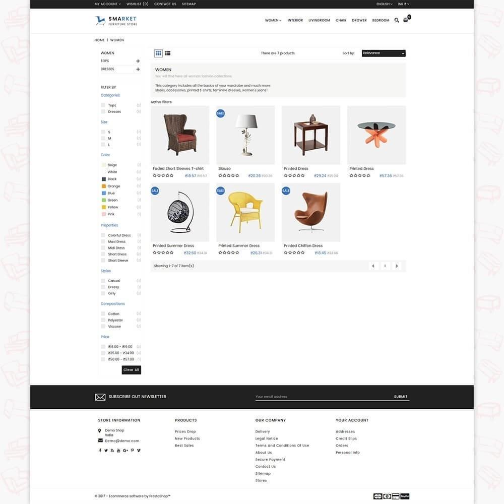theme - Casa & Giardino - SMarket Furniture Store - 3