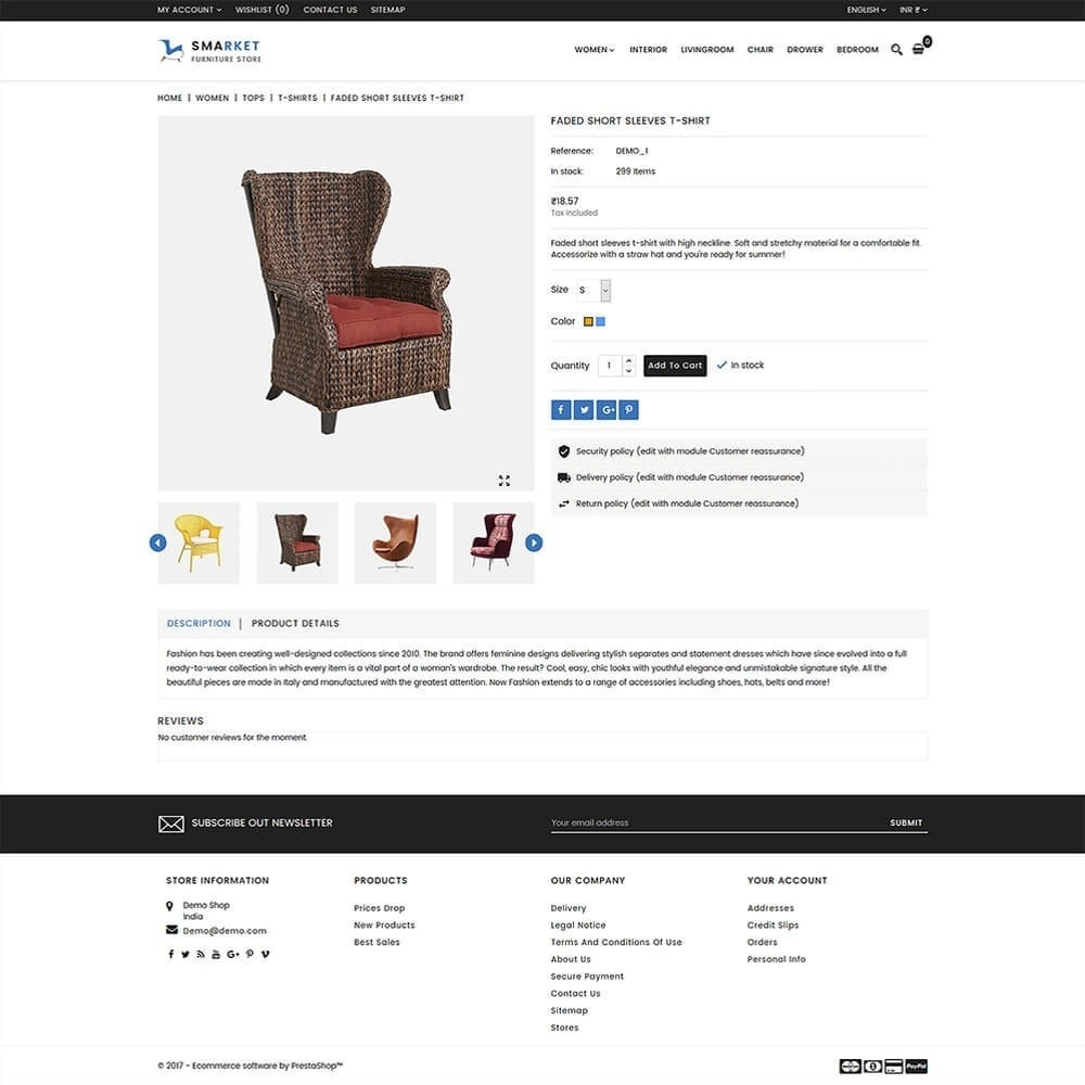 theme - Дом и сад - SMarket Furniture Store - 5