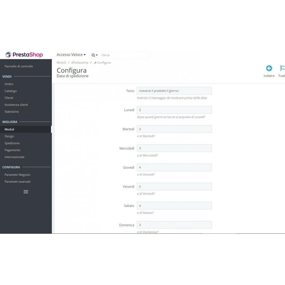 module - Data di Consegna - Mostra ai clienti la data di ricezione del prodotto - 3