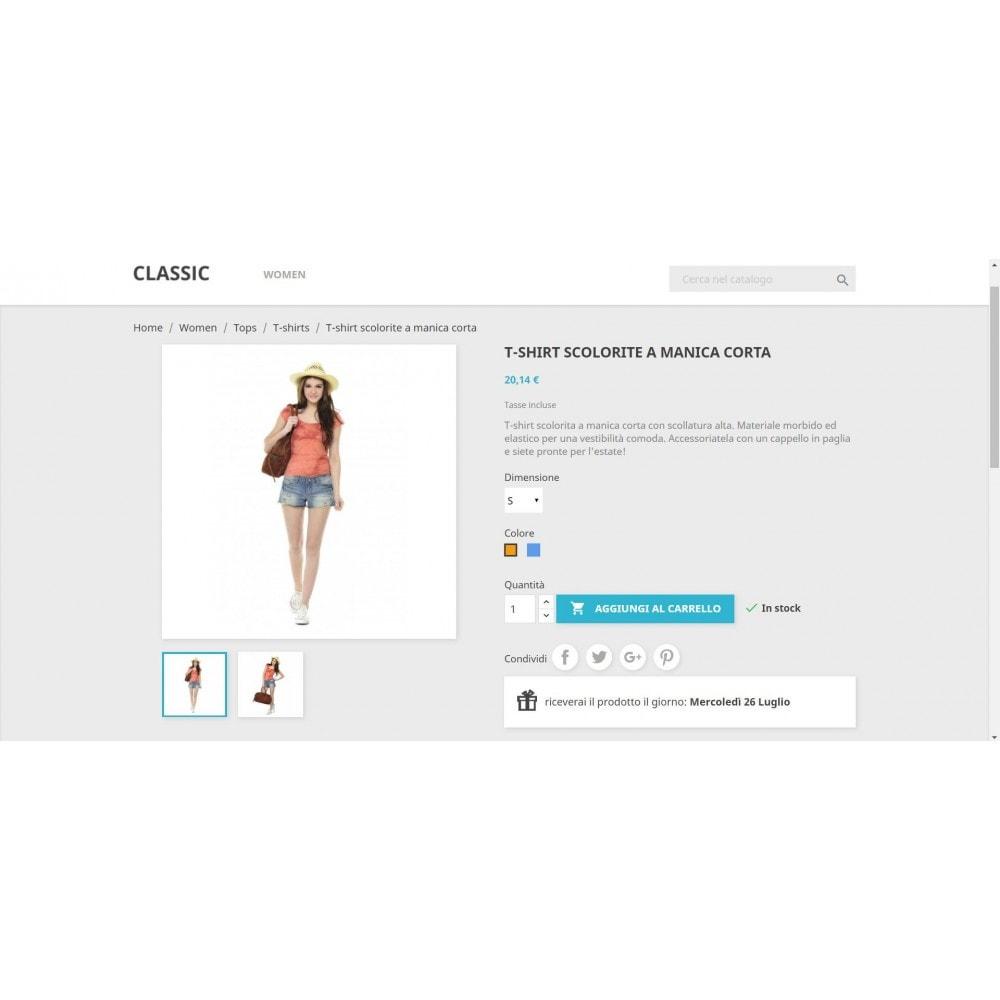 module - Data di Consegna - Mostra ai clienti la data di ricezione del prodotto - 4