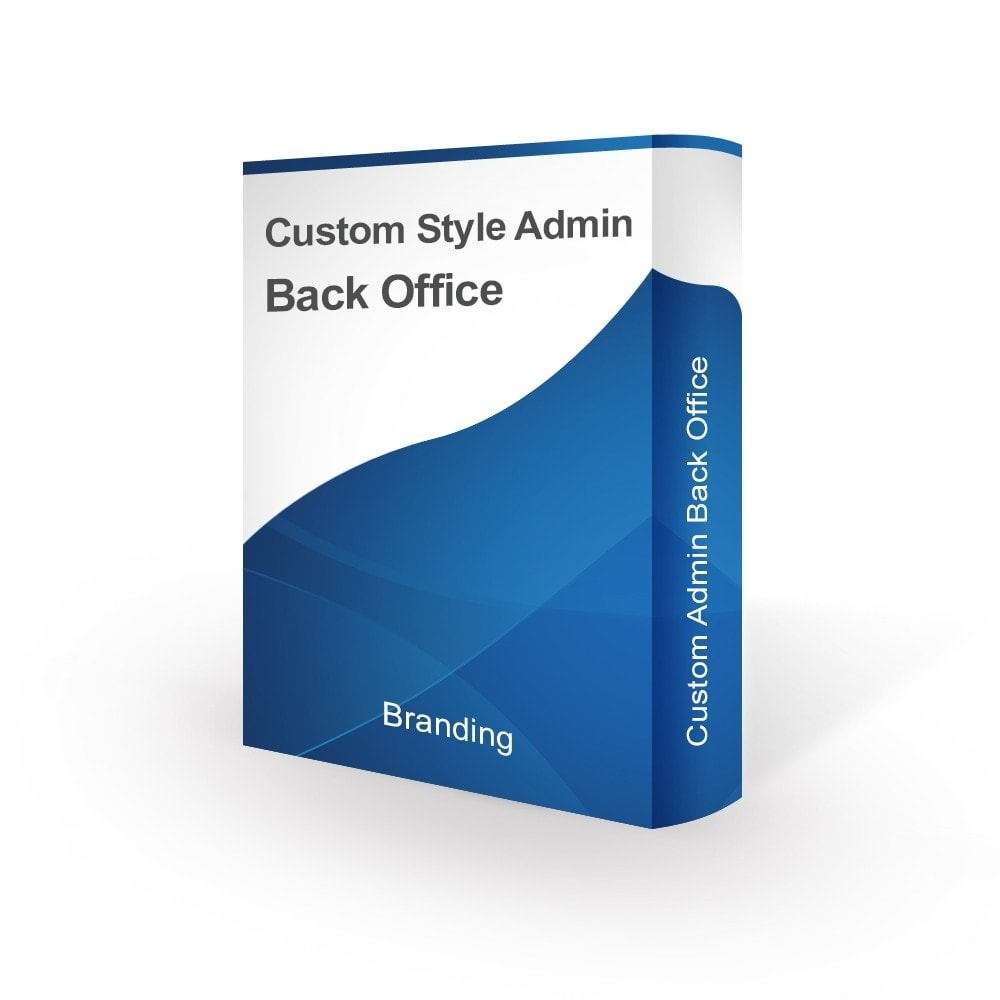 module - Individuelle Seitengestaltung - Design Style for Admin Back Office and Login Page - 1