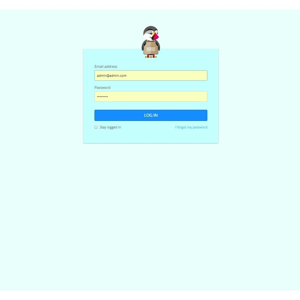 module - Individuelle Seitengestaltung - Design Style for Admin Back Office and Login Page - 6
