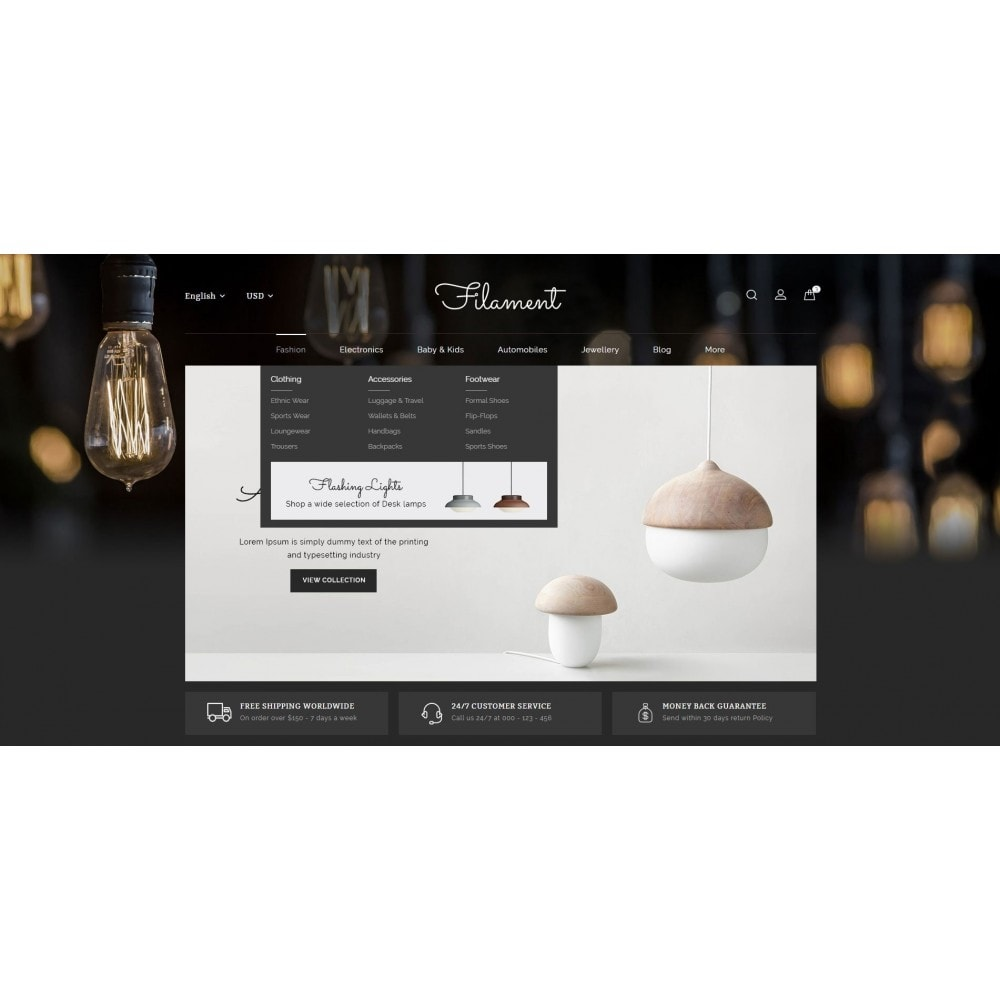 theme - Casa & Jardins - Filament - Lighting Store - 6