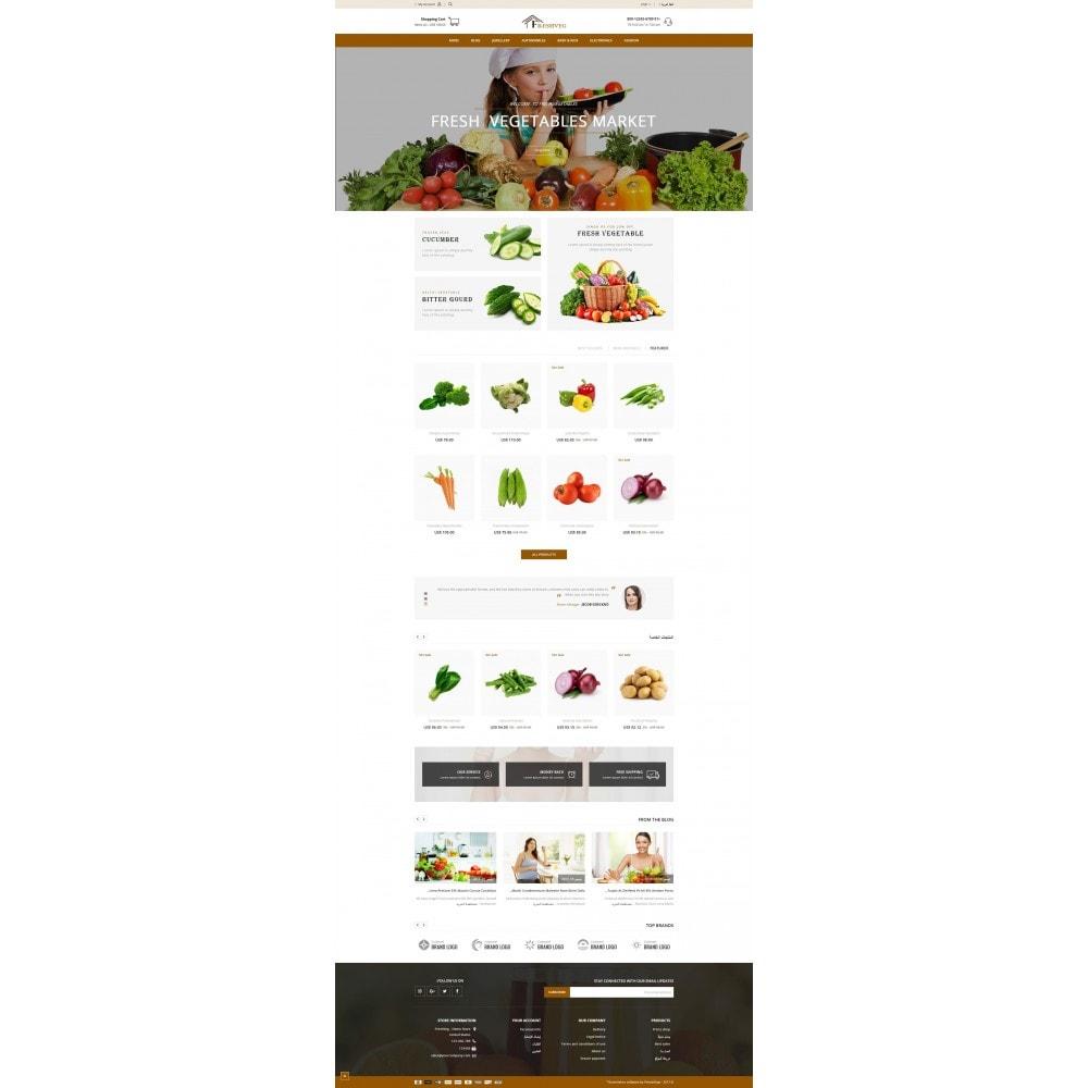 theme - Cibo & Ristorazione - Fresh Vegetable Shop - 10