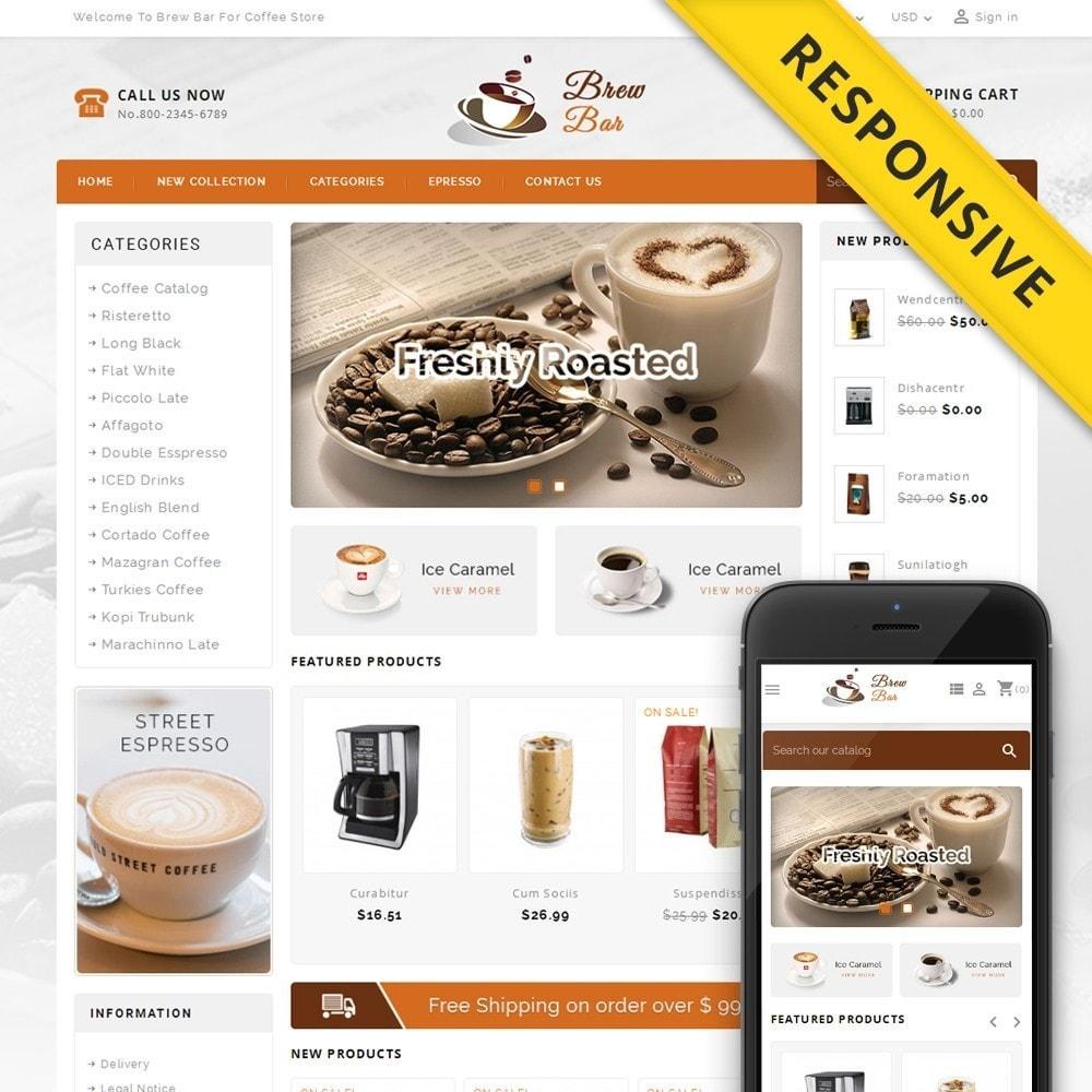 theme - Food & Restaurant - Brew Bar - Coffee Store - 1