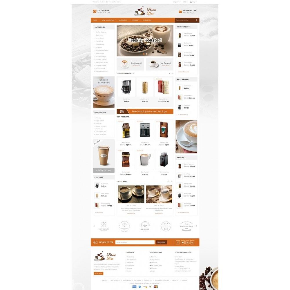 theme - Food & Restaurant - Brew Bar - Coffee Store - 2
