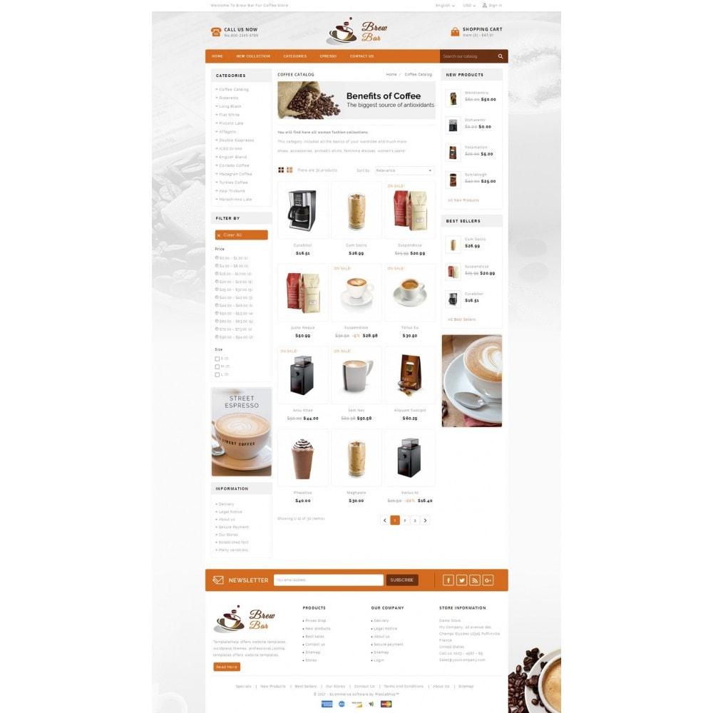 theme - Food & Restaurant - Brew Bar - Coffee Store - 3