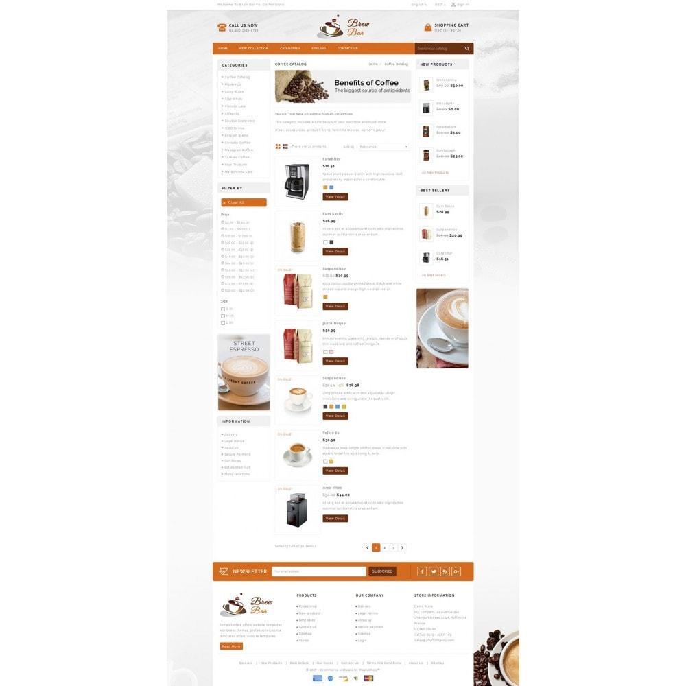 theme - Food & Restaurant - Brew Bar - Coffee Store - 4