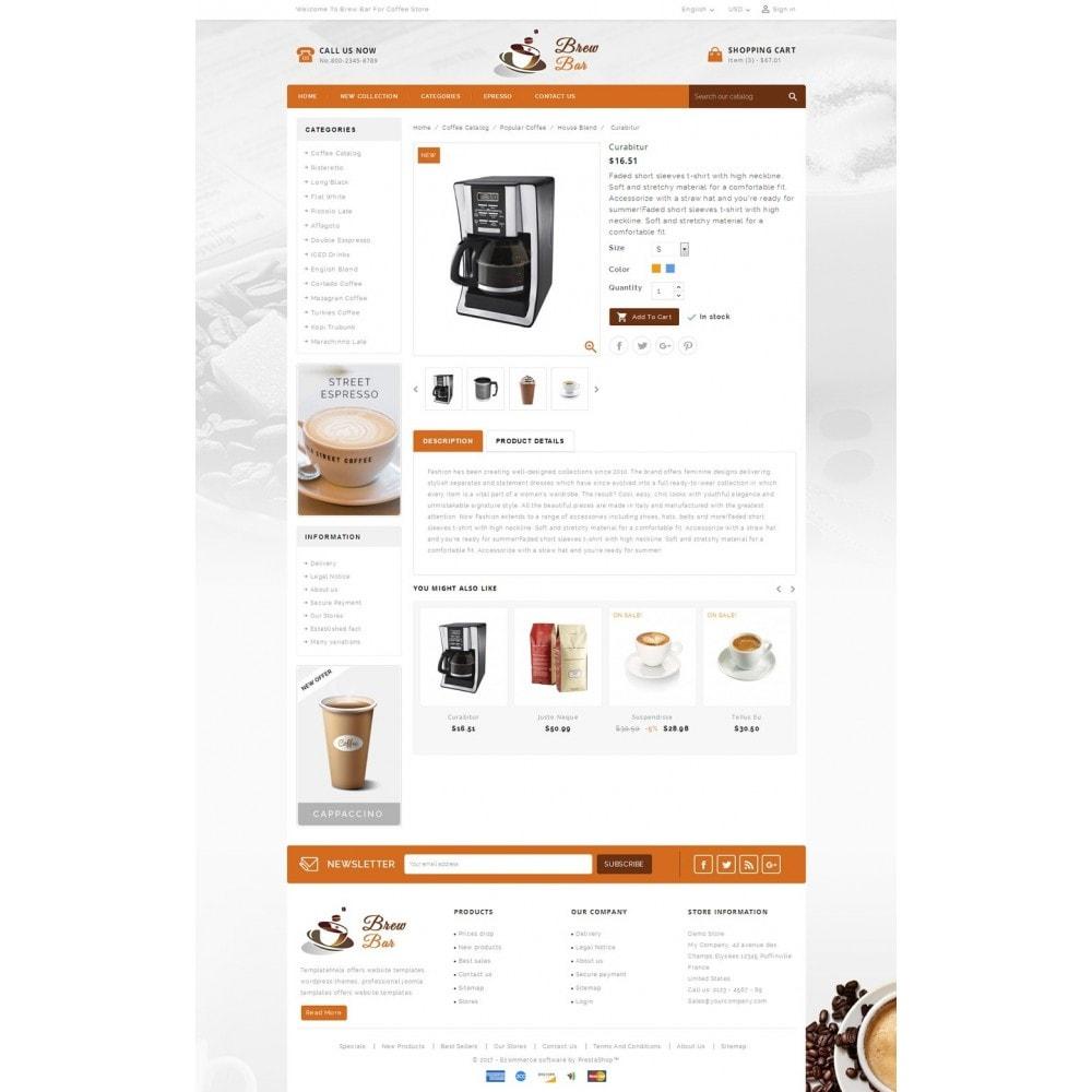 theme - Food & Restaurant - Brew Bar - Coffee Store - 5