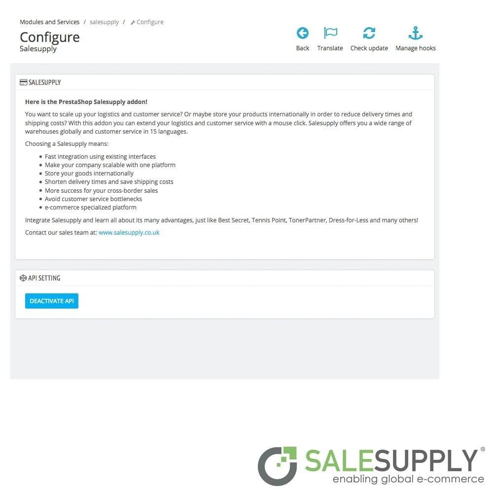 module - Kundenservice - Salesupply - 2