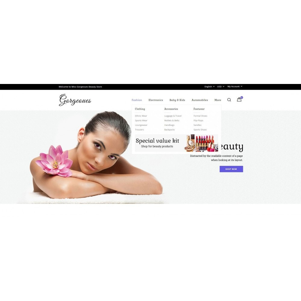 theme - Health & Beauty - Gorgeous Beauty Store - 6