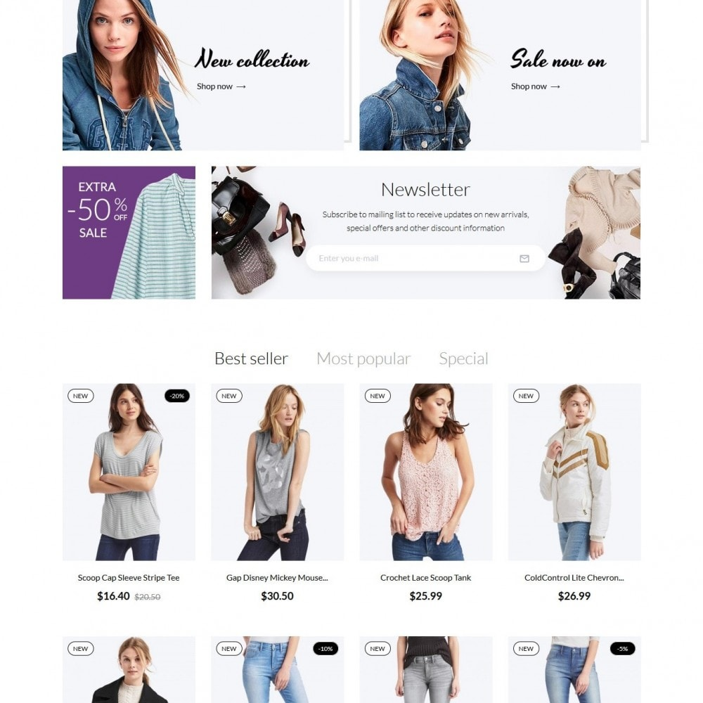 theme - Moda & Calzature - Charme Fashion Store - 3