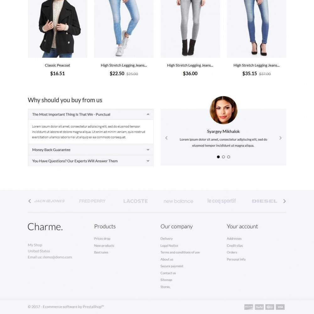 theme - Moda & Calzature - Charme Fashion Store - 4