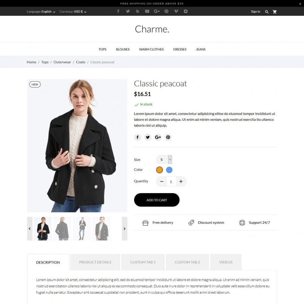 theme - Moda & Calzature - Charme Fashion Store - 6