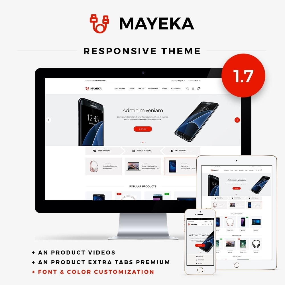 theme - Электроника и компьютеры - Mayeka - High-tech Shop - 1
