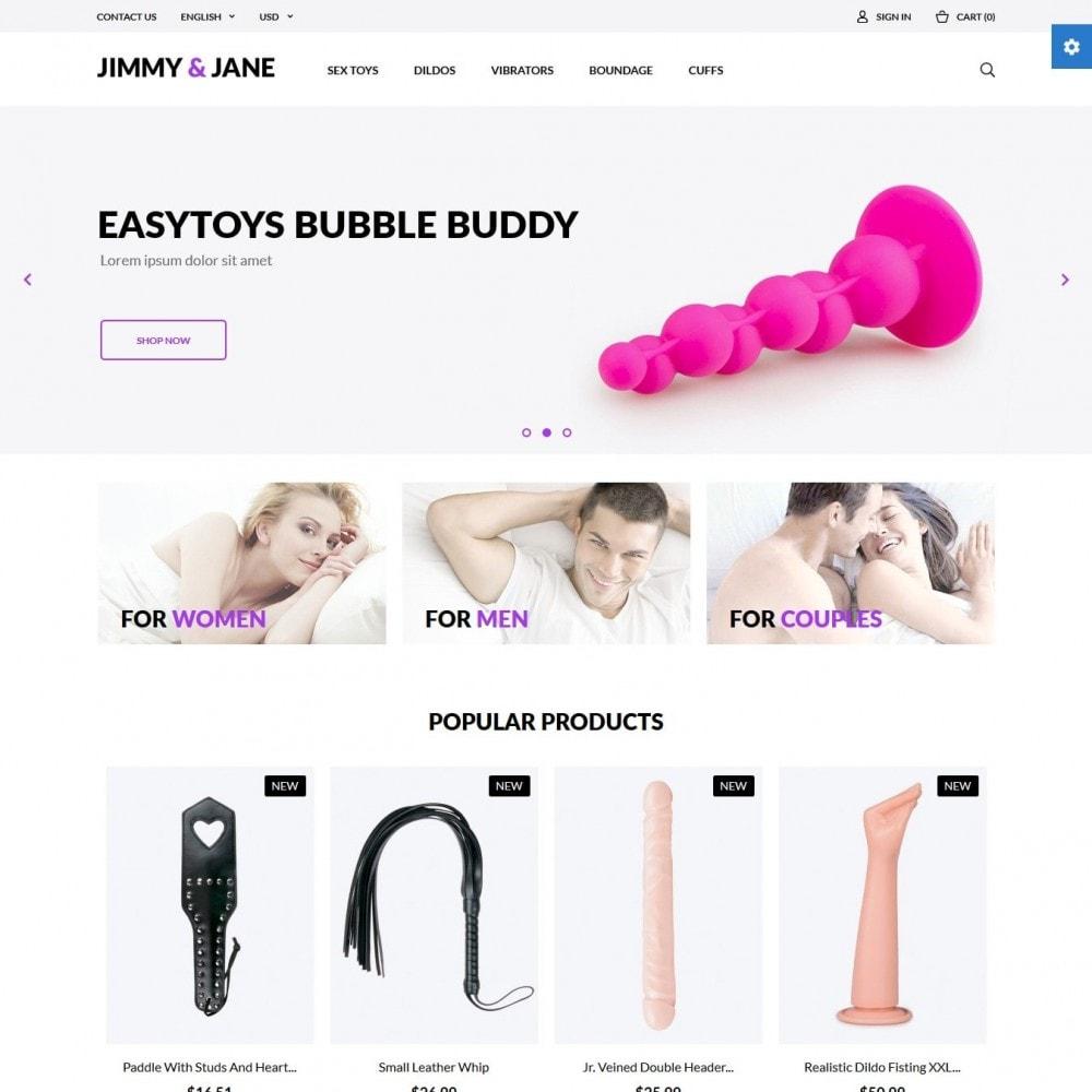 theme - Нижнее белье и товары для взрослых - Jimmy&Jane - SexShop - 2