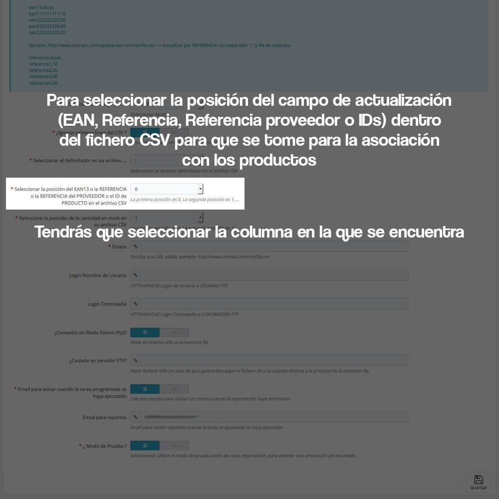 module - Edición Rápida y Masiva - Actualizador masivo de stock (producto y combinaciones) - 17