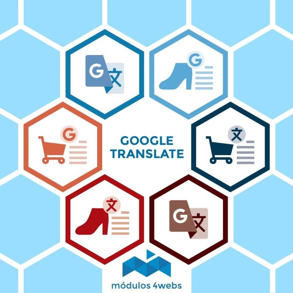 module - Internacionalización y Localización - Bloque Google Translate - 1