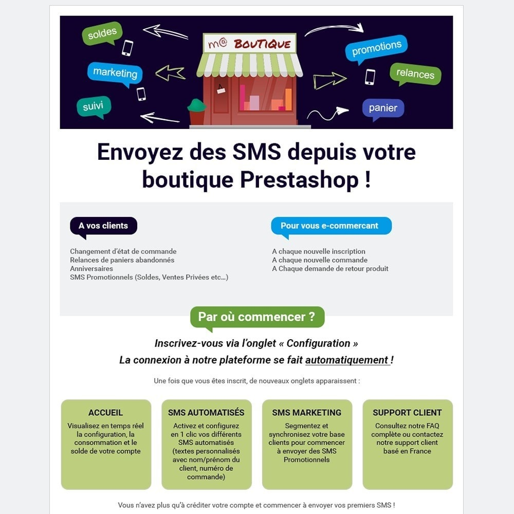 module - Newsletter y SMS - MTarget SMS - 1