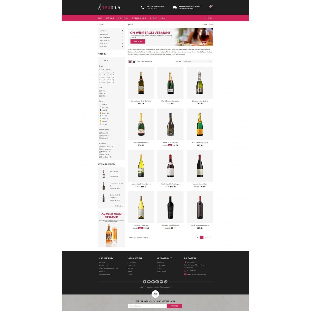 theme - Drank & Tabak - Tequila - The Wine Store - 2