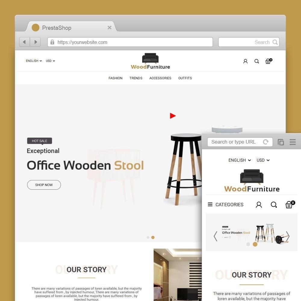 theme - Huis & Buitenleven - Wood Furniture Shop - 1