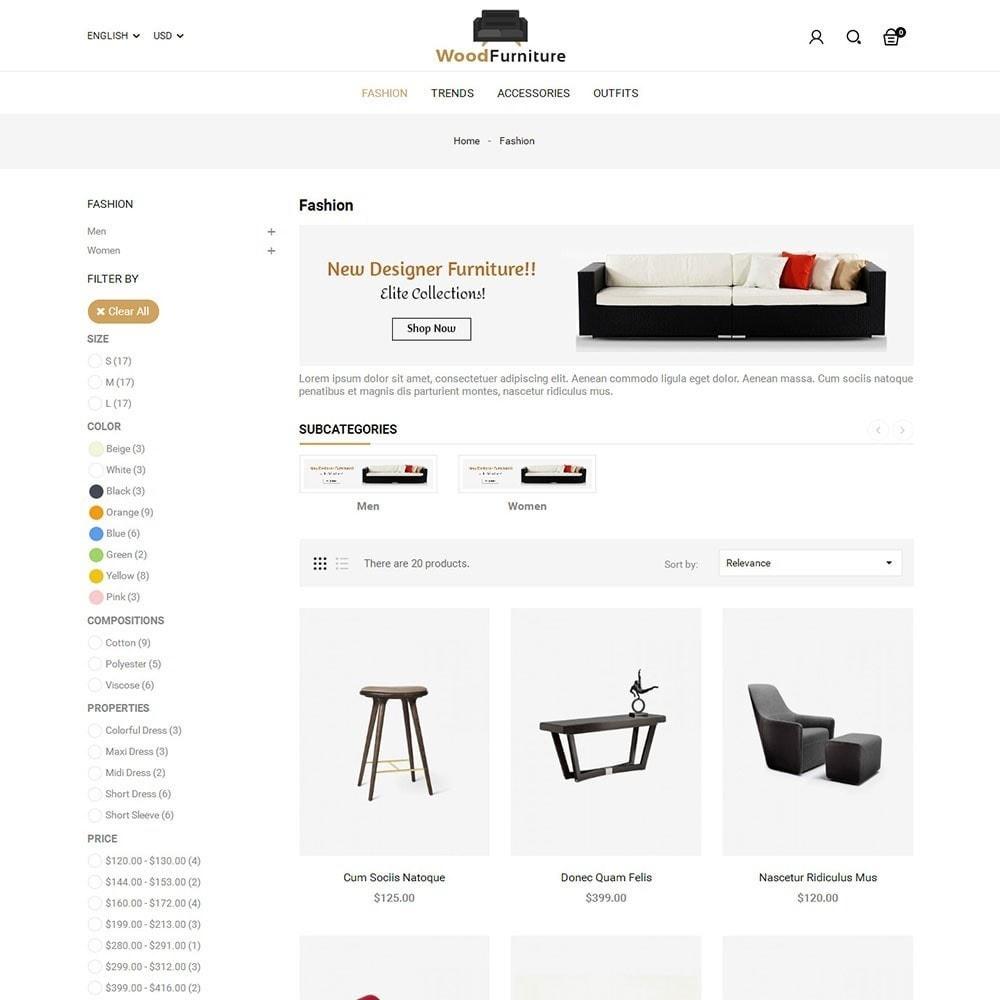 theme - Huis & Buitenleven - Wood Furniture Shop - 3