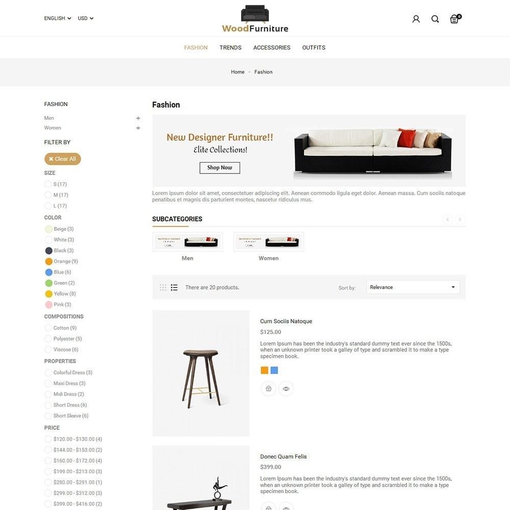 theme - Huis & Buitenleven - Wood Furniture Shop - 4