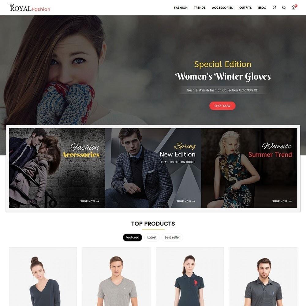theme - Moda & Calçados - Royal Fashion Store - 2