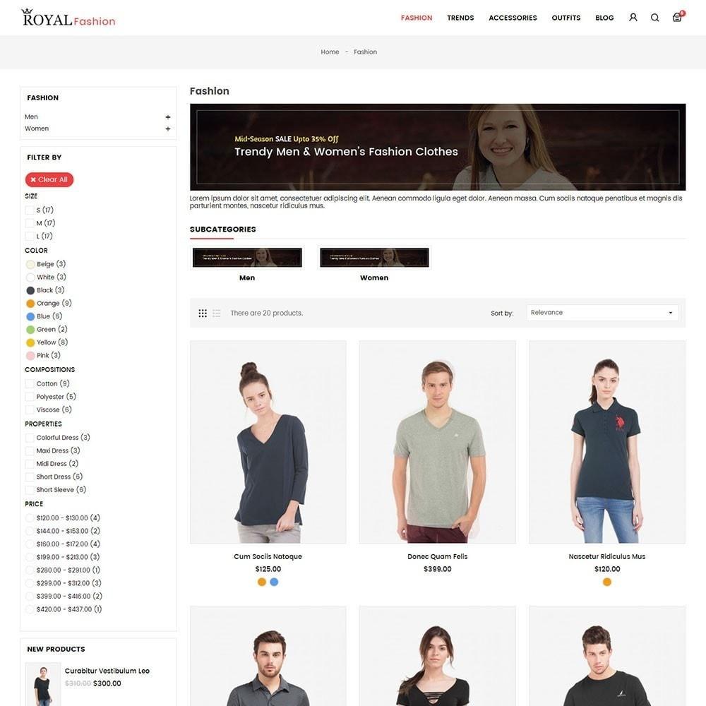 theme - Moda & Calçados - Royal Fashion Store - 3