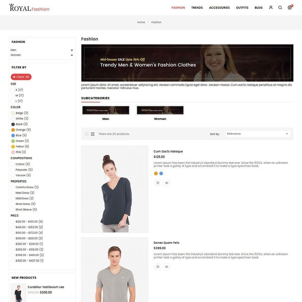 theme - Moda & Calçados - Royal Fashion Store - 4