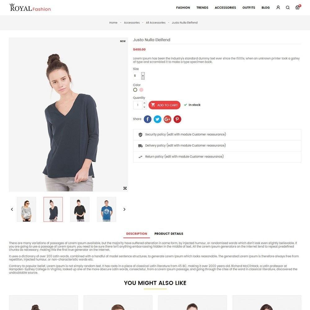 theme - Moda & Calçados - Royal Fashion Store - 5