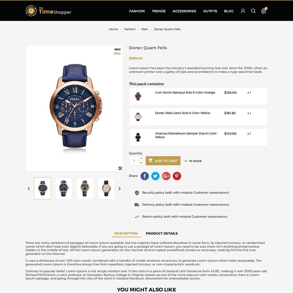 theme - Jewelry & Accessories - Time Shopper Watch Store - 5