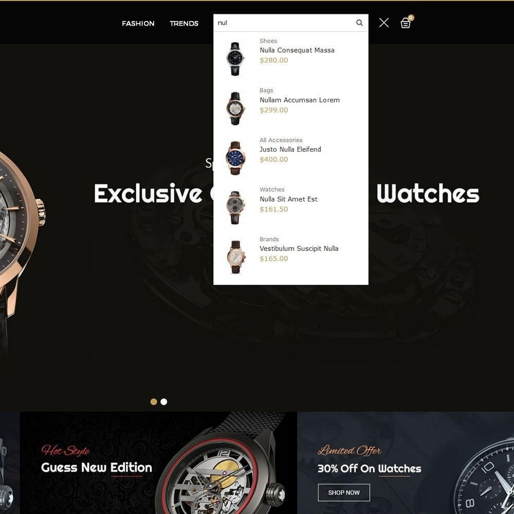 theme - Jewelry & Accessories - Time Shopper Watch Store - 6