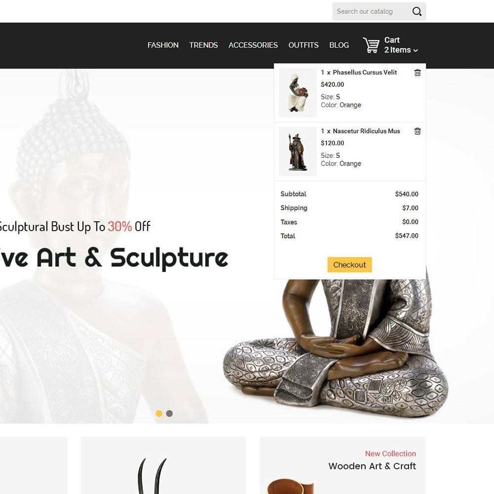theme - Arte y Cultura - Infinity Sculpture Store - 7