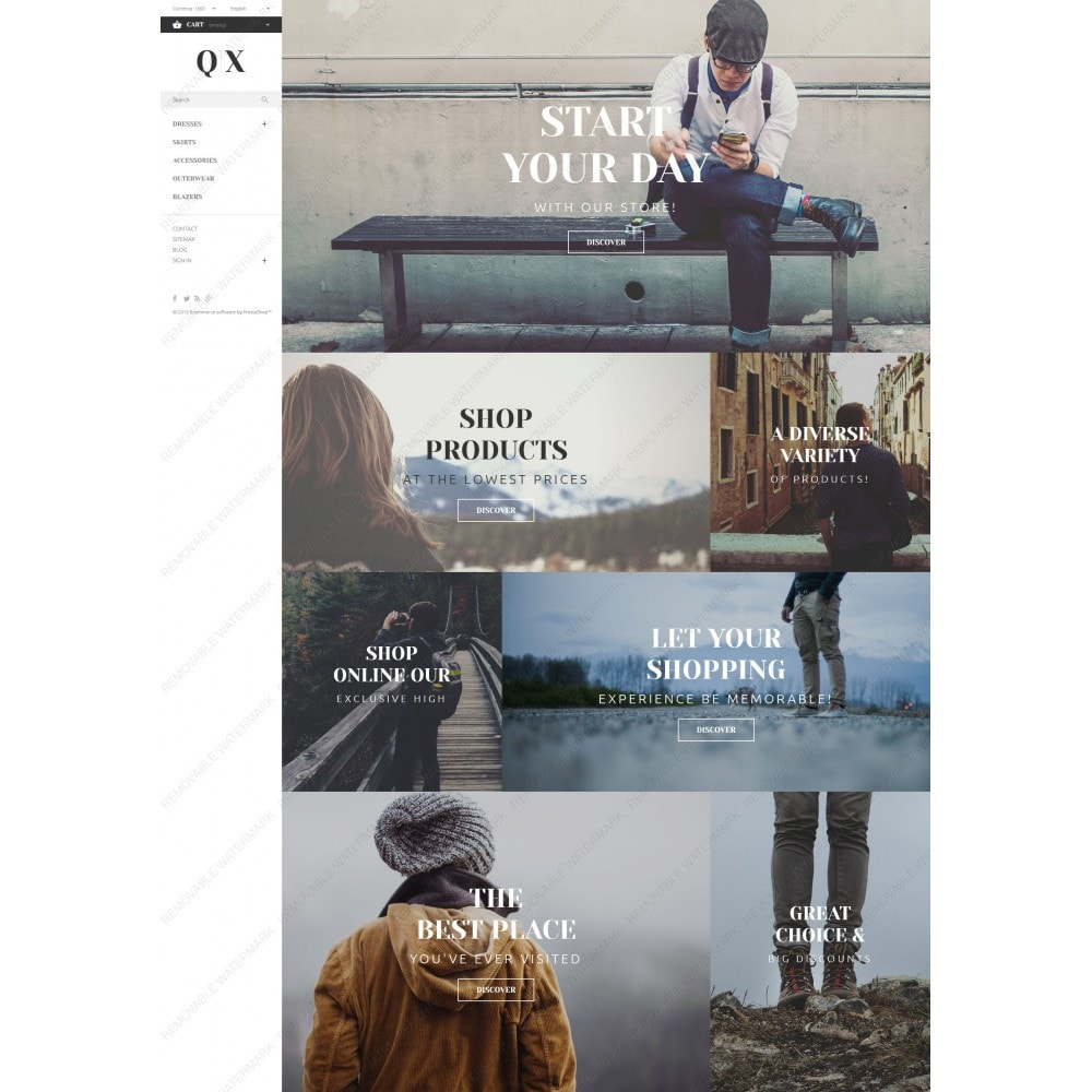 theme - Moda & Calzature - QX - 5