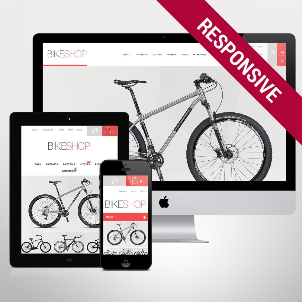 theme - Automotive & Cars - BikeShop - 1