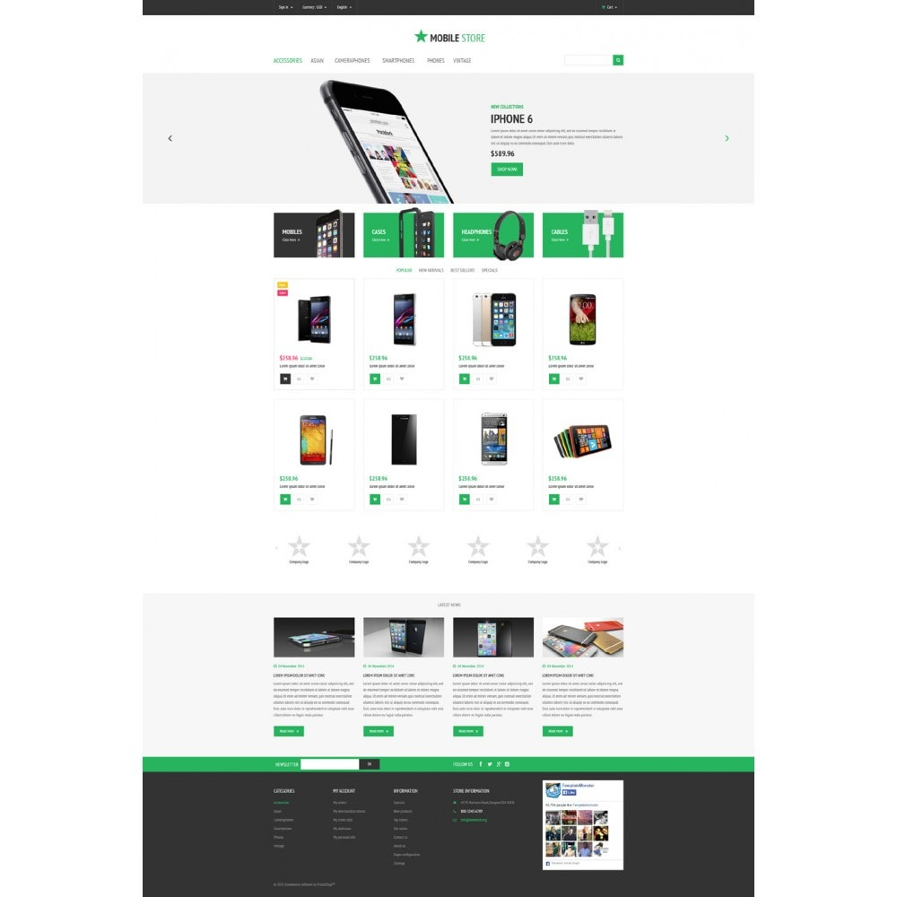 theme - Elettronica & High Tech - Mobile Store - 2