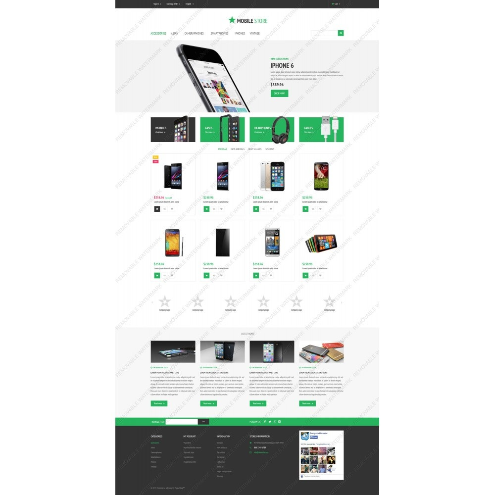 theme - Elettronica & High Tech - Mobile Store - 3