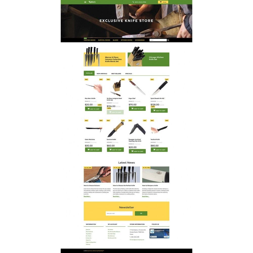 theme - Arte e Cultura - Knives - Housewares Store - 2