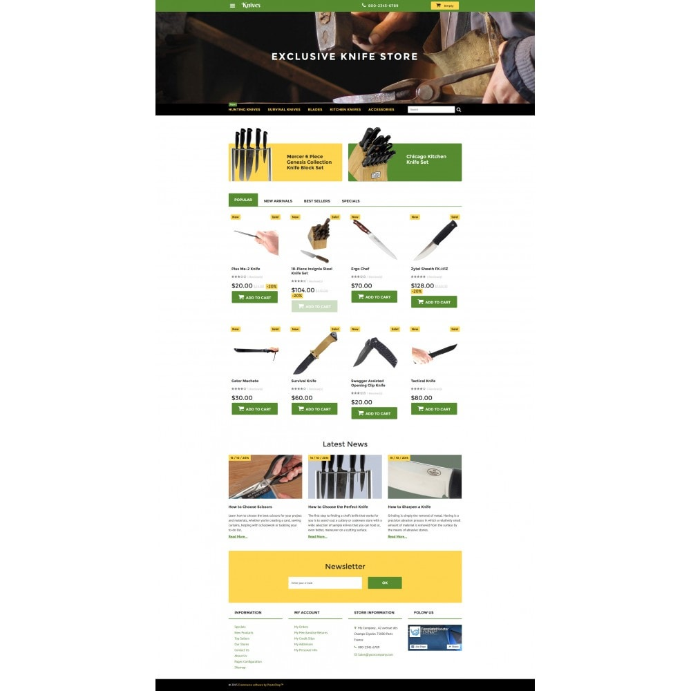theme - Arte e Cultura - Knives - Housewares Store - 4