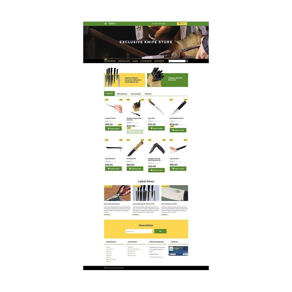 theme - Arte e Cultura - Knives - Housewares Store - 10
