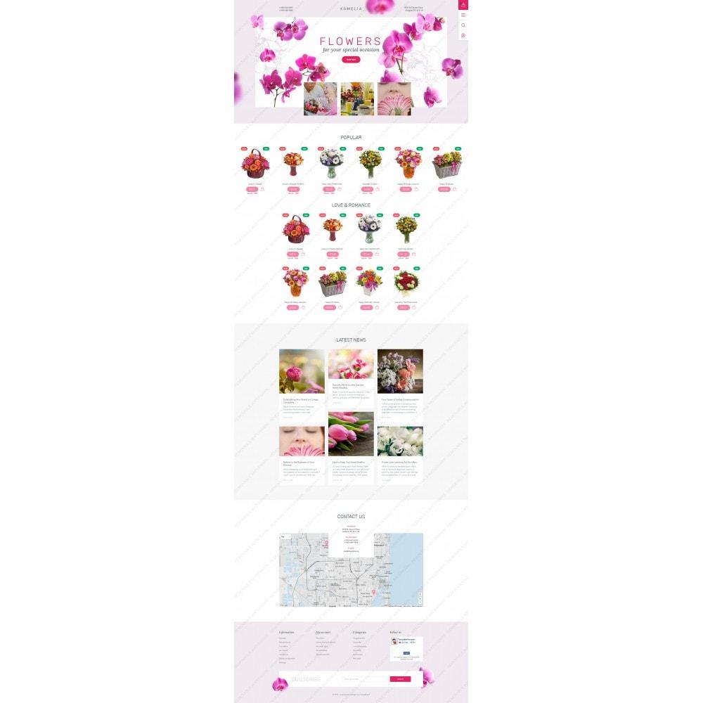 theme - Cadeaux, Fleurs et Fêtes - Kamelia - 5