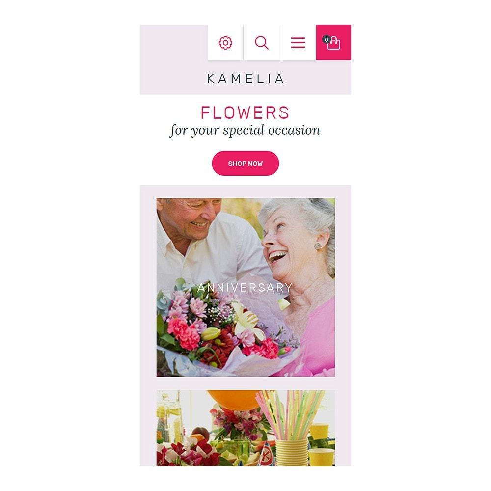 theme - Cadeaux, Fleurs et Fêtes - Kamelia - 8