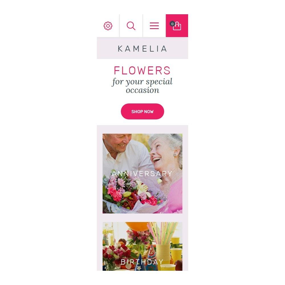 theme - Cadeaux, Fleurs et Fêtes - Kamelia - 9