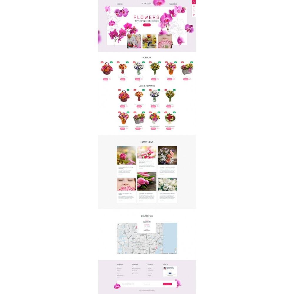 theme - Cadeaux, Fleurs et Fêtes - Kamelia - 10